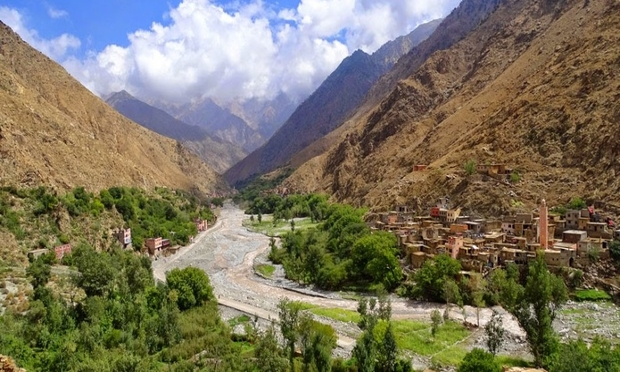 4 Days Berber Villages Trek - High Atlas Mountain Valley Trek