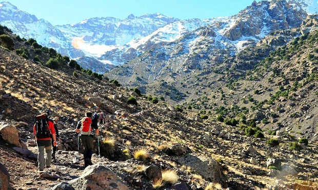 6 Days Trekking in High Atlas- Valleys Walking and Mount Toubkal Circuit